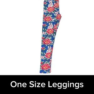 New Lularoe floral os leggings